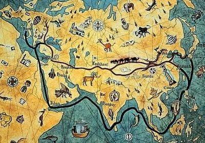 route de la soie silkroad