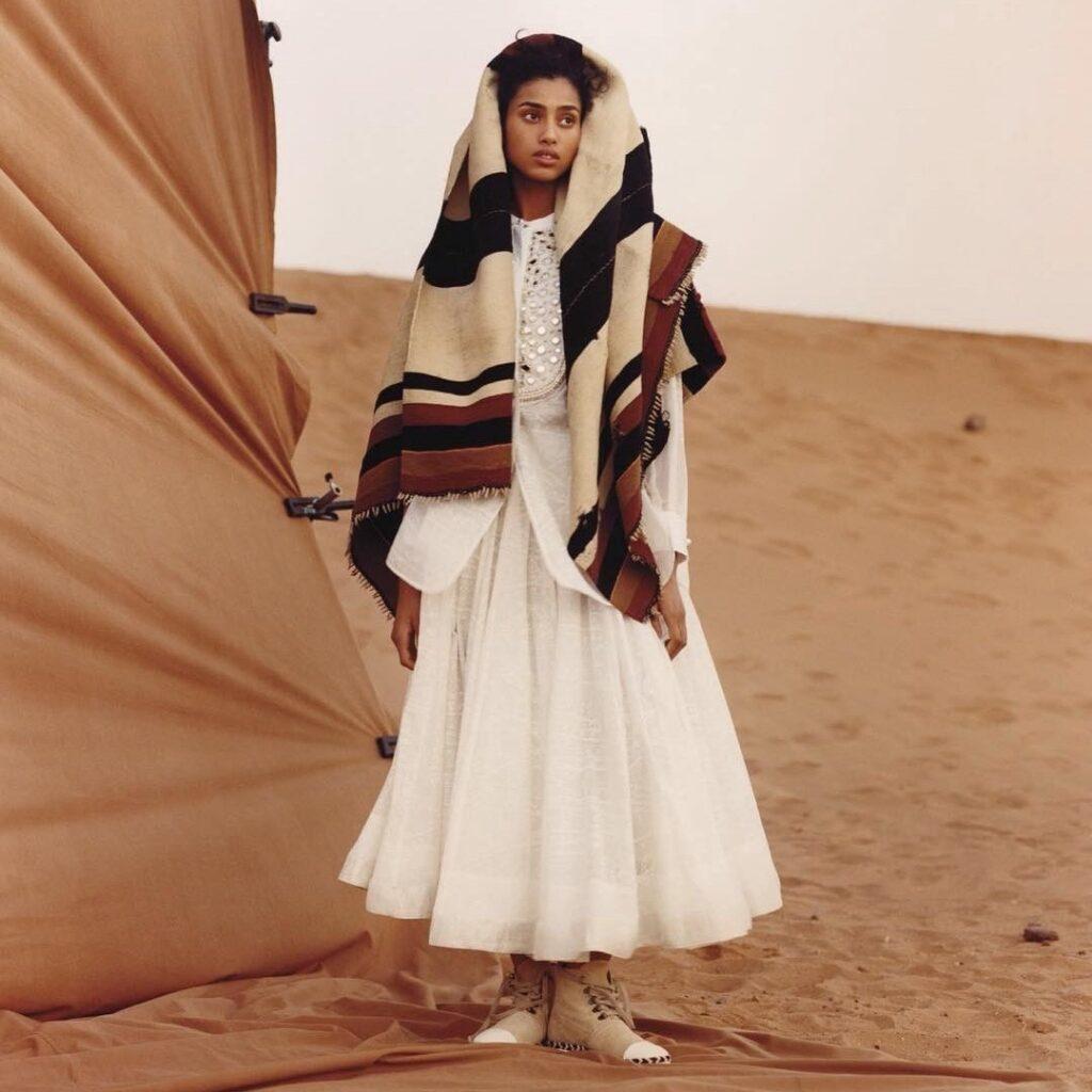 iman hammam mannequin afro arabe