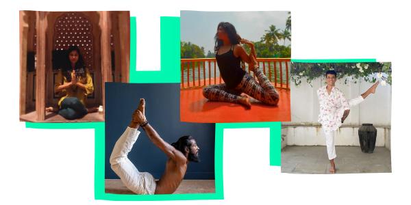 professeurs yoga indien